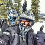 Snowmobiling in Grand Lake