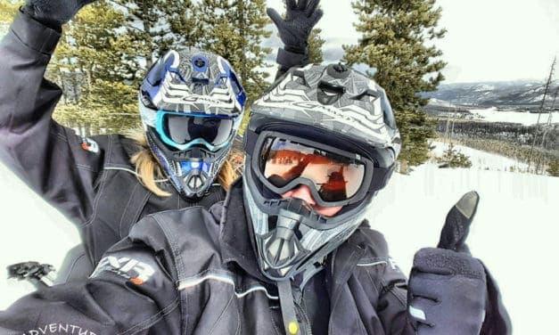 Snowmobiling in Grand Lake