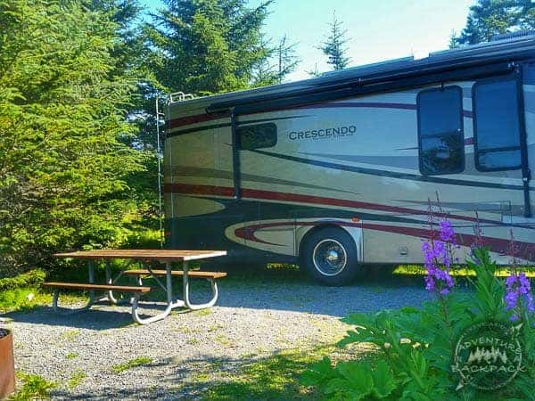 Camping in Anchor Point is a great alternative to Homer Alaska, which is much more crowded.