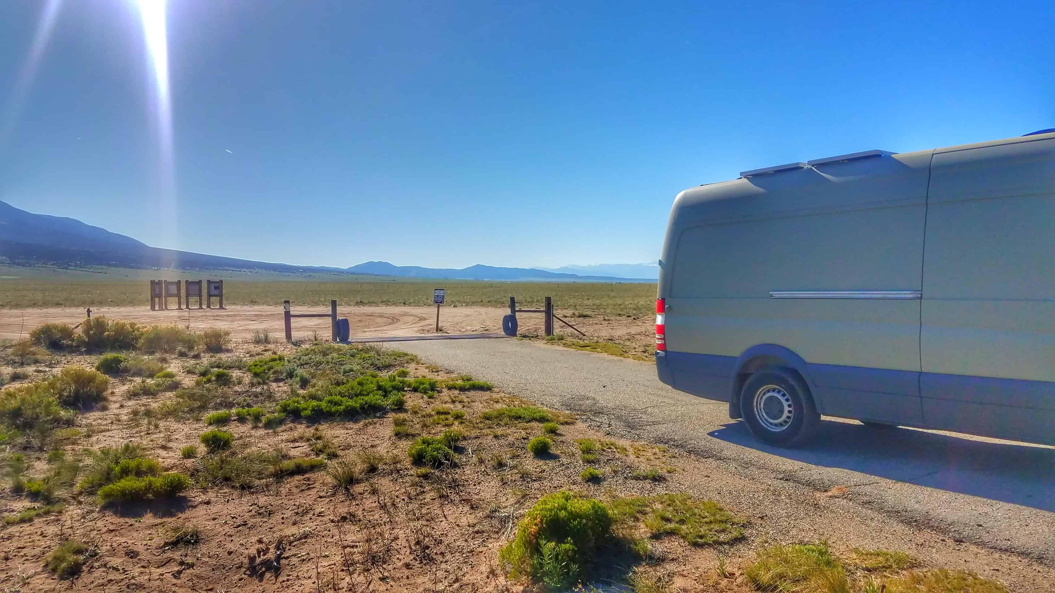 Boondocking Great Sand Dunes National Park 3