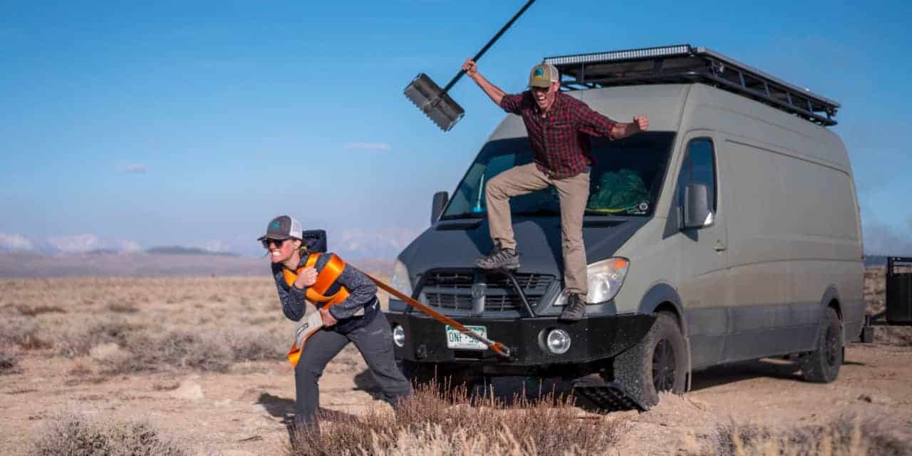 2WD vs 4×4 Campervan- Considerations and Off Road Recovery Gear