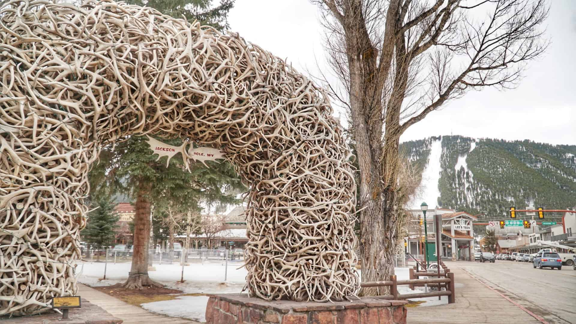 Antler Arches Jackson Hole - 7 Can't Miss Winter Activities in Jackson Hole