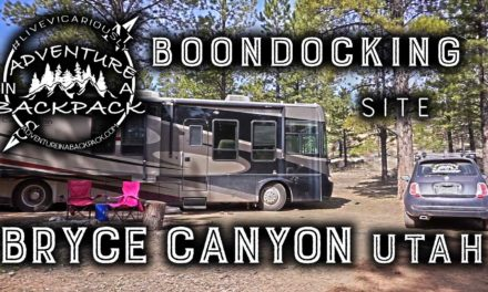 Boondocking Near Bryce Canyon National Park