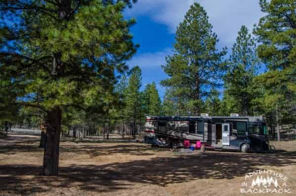 Boondocking Near Bryce Canyon