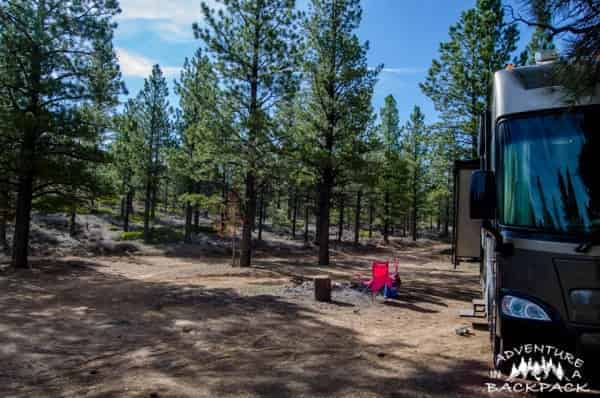 Bryce Canyon Dispersed Camping