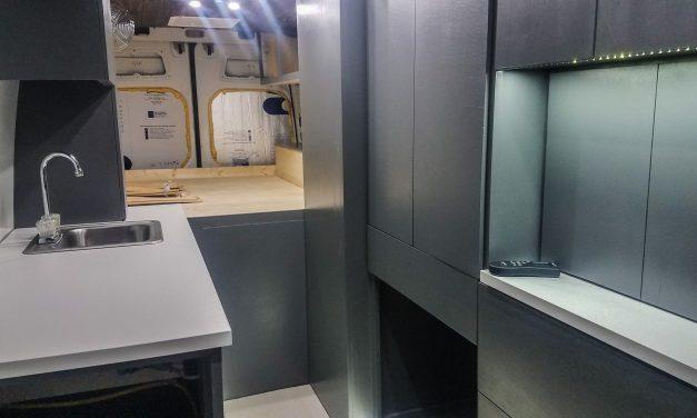 Van Life Build: Building Custom Cabinets