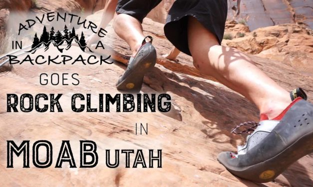 Rock Climbing Wall Street in Moab