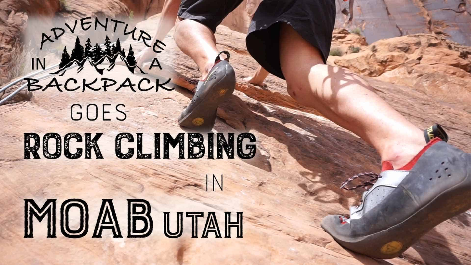 Rock Climbing Wall Street in Moab