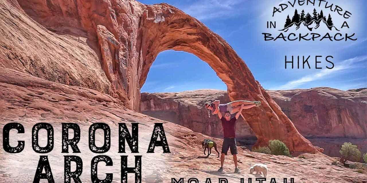Hiking Corona Arch in Moab