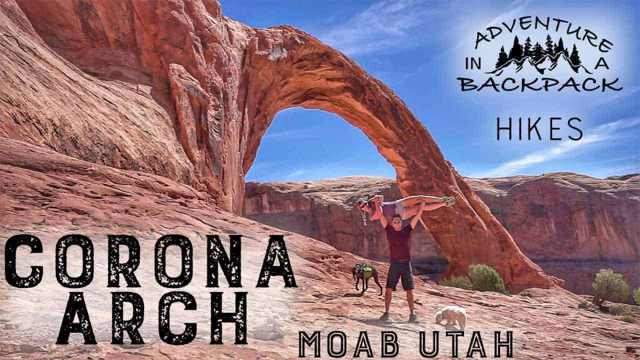 Hiking Corona Arch in Moab