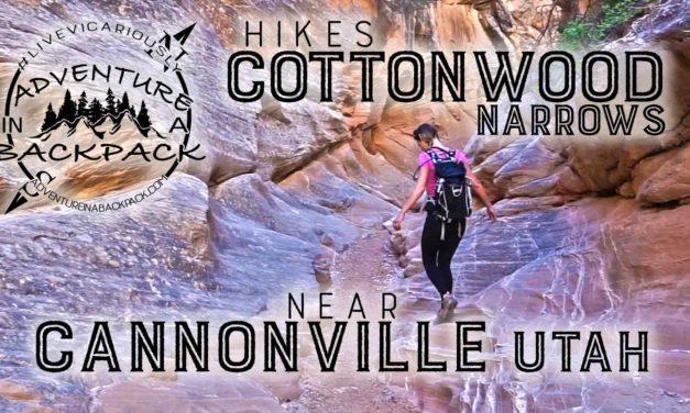 Hiking Cottonwood Narrows – Cannonville Utah