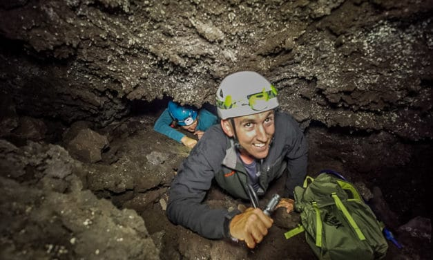 Caving at Craters of the Moon