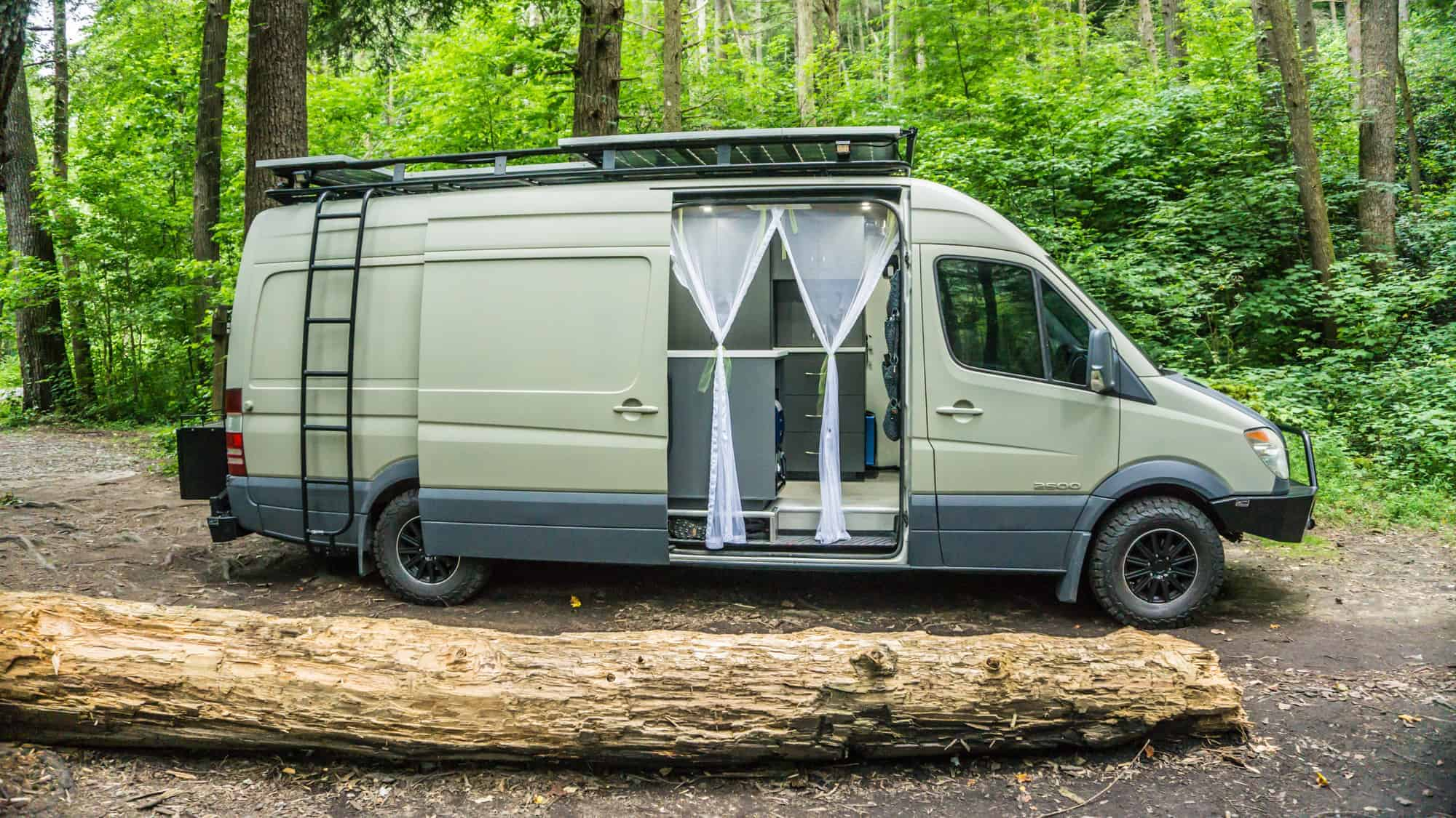 DIY Campervan Conversion 1