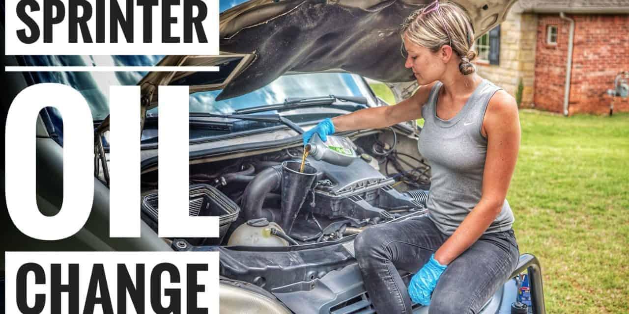 Maintenance 101: Changing Oil in a Sprinter Van