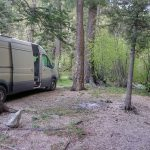 Boondocking Campsite Taos Ski Valley