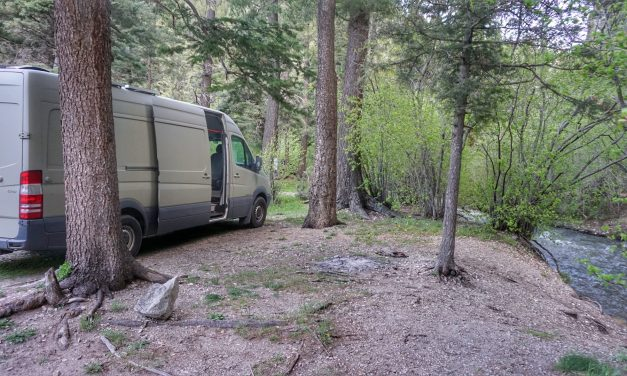 Boondocking Campsite Taos Ski Valley