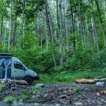 Boondocking Campsite Paint Creek Tennessee