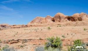 Corona Arch in Moab Utah