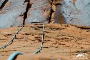 Climbing in Moab