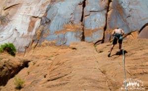 Wall Street Climbing Moab