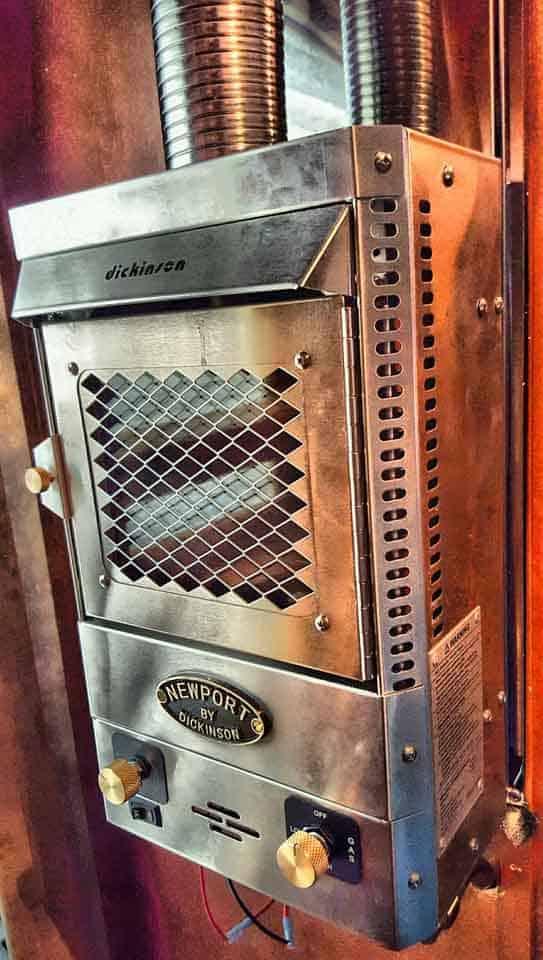 Dickinson propane heater