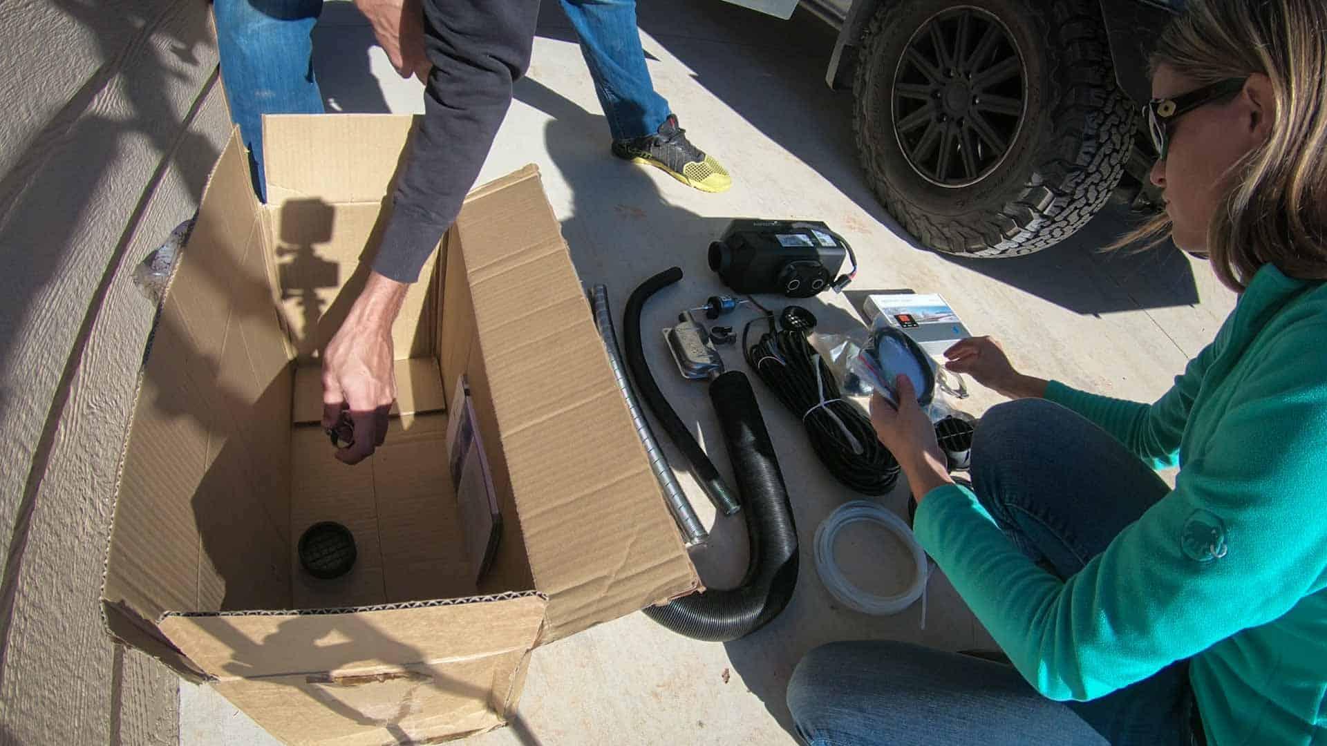 Espar d2 Diesel Heater Install-2