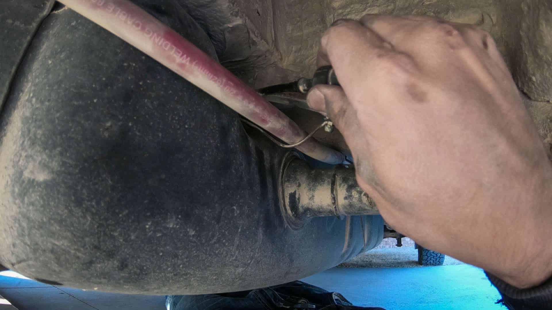 Espar d2 Diesel Heater Install-3