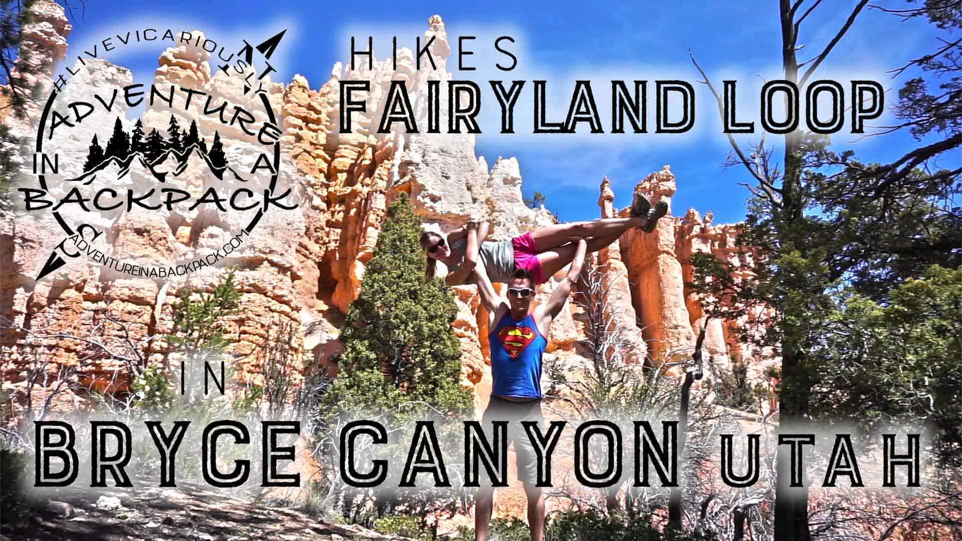Fairyland Loop in Bryce Canyon National Park