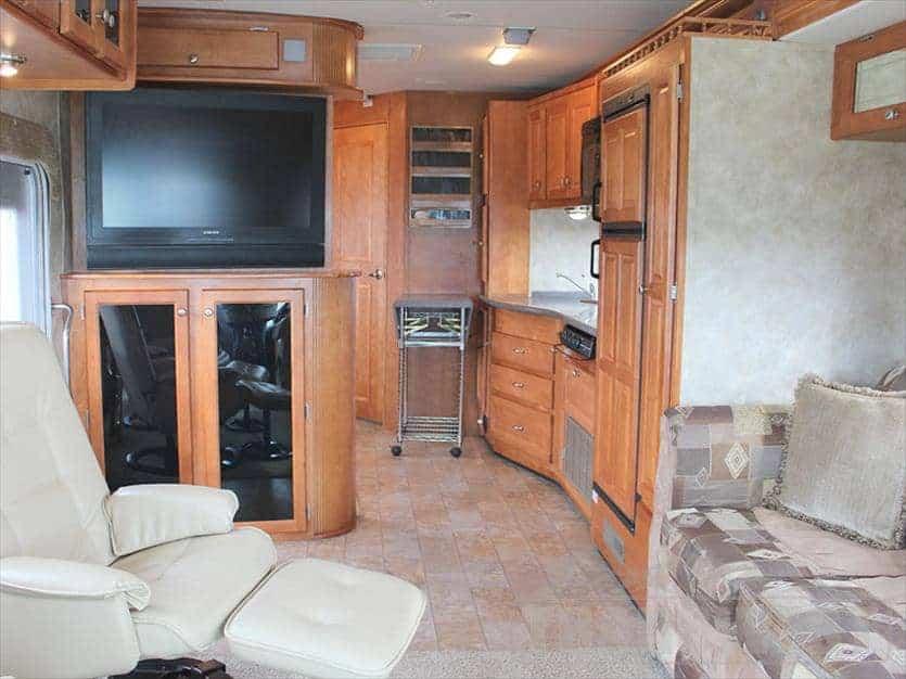 2008 Gulfstream crescendo interior