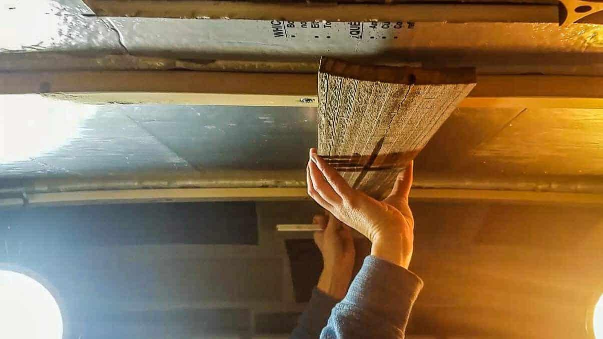 Installing Campervan Ceilings-7