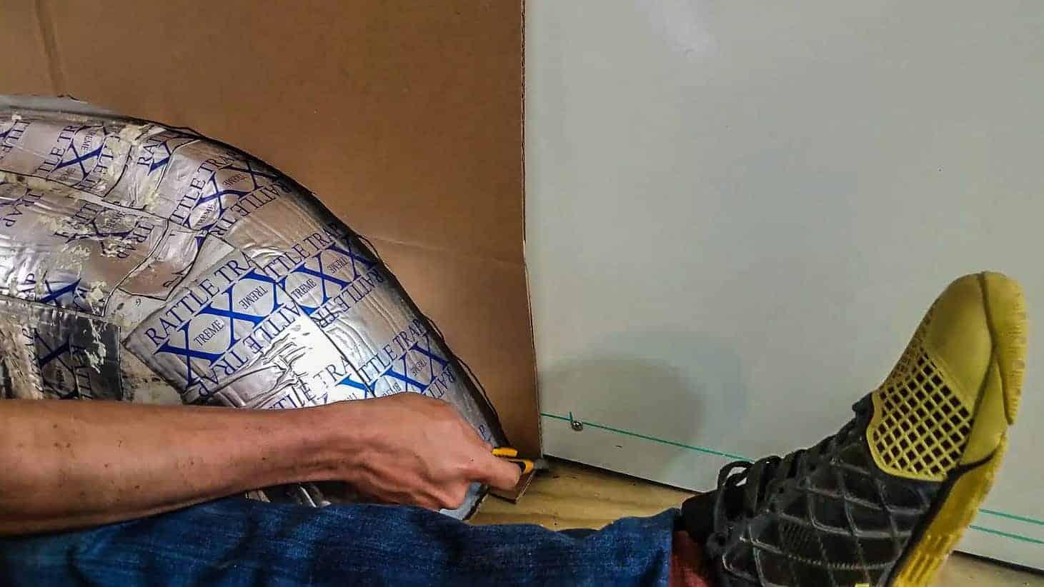 Installing Walls in our DIY Campervan-5