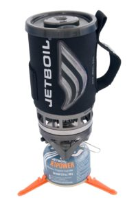 The Jetboil boils water FAST!