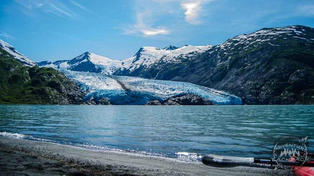 Portage Glacier Kayaking