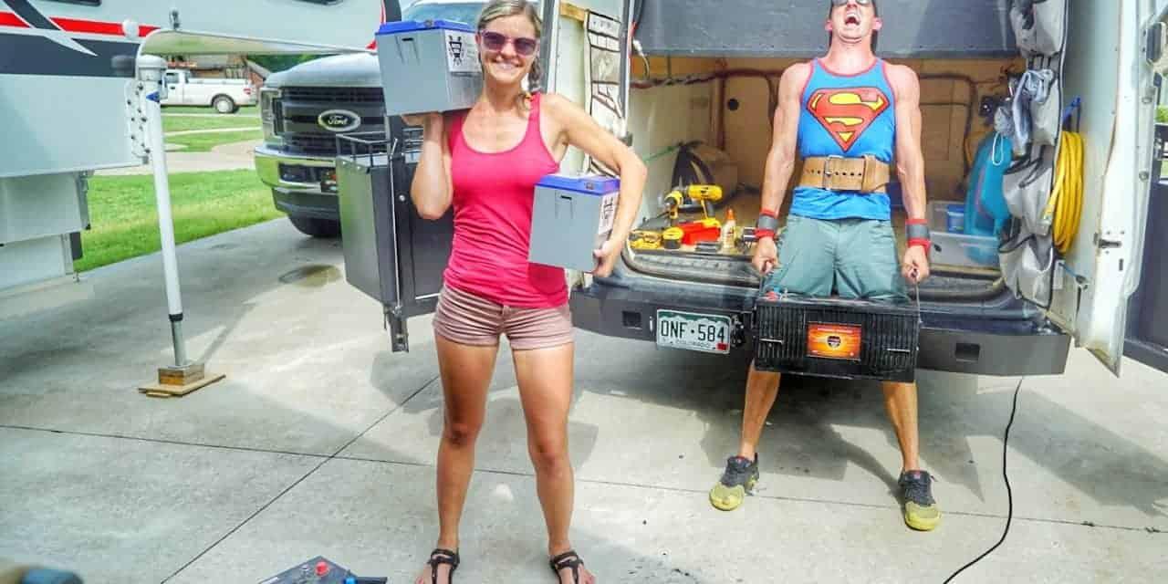 Choosing a Solar Battery Bank for a Camper
