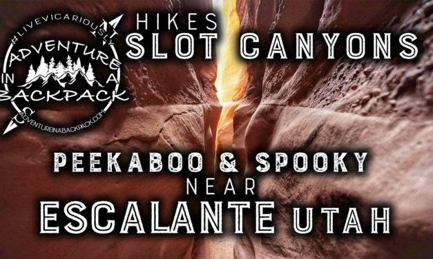 Spooky and Peekaboo Slot Canyons