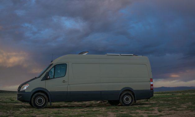 Full Body PlastiDip on Our DIY Sprinter Campervan