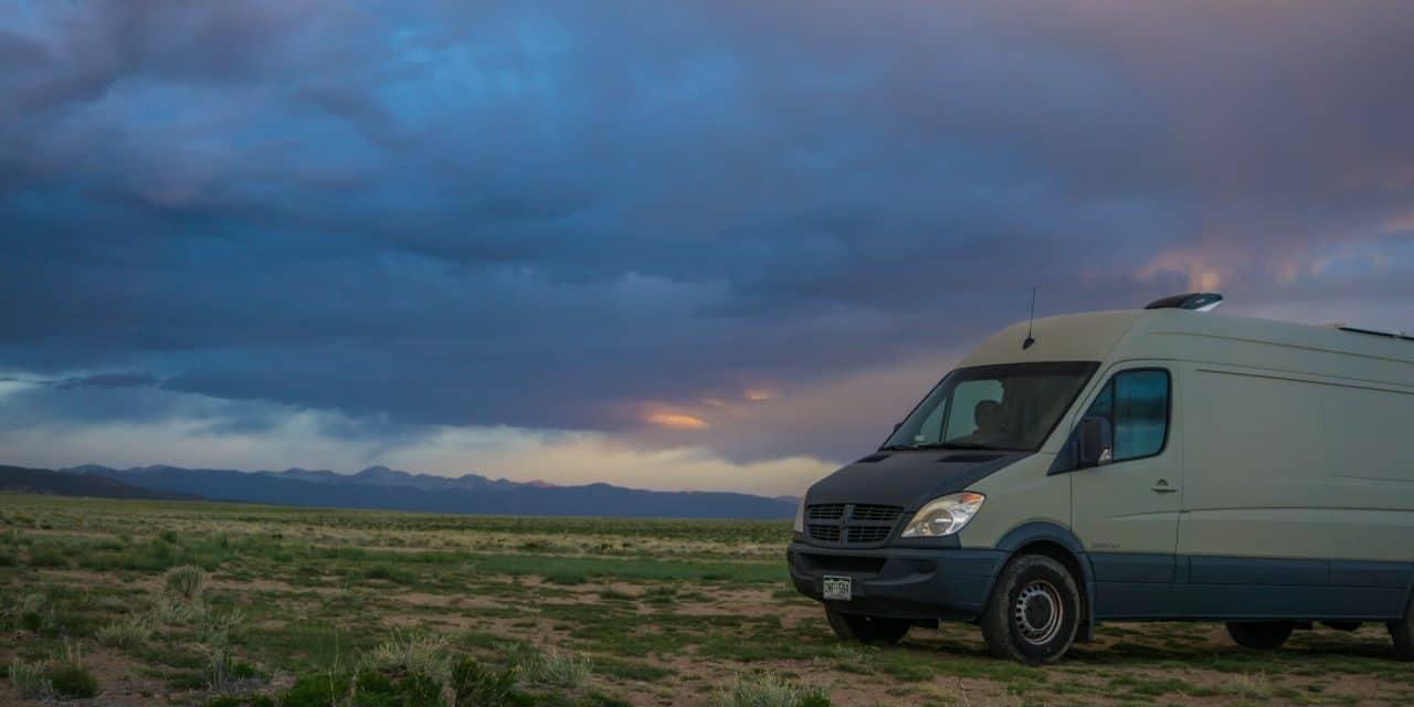 Boondocking Campsite near Great Sand Dunes National Park