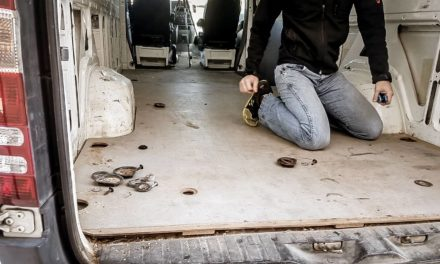 How to Prep A Campervan Floor for a DIY Campervan Build
