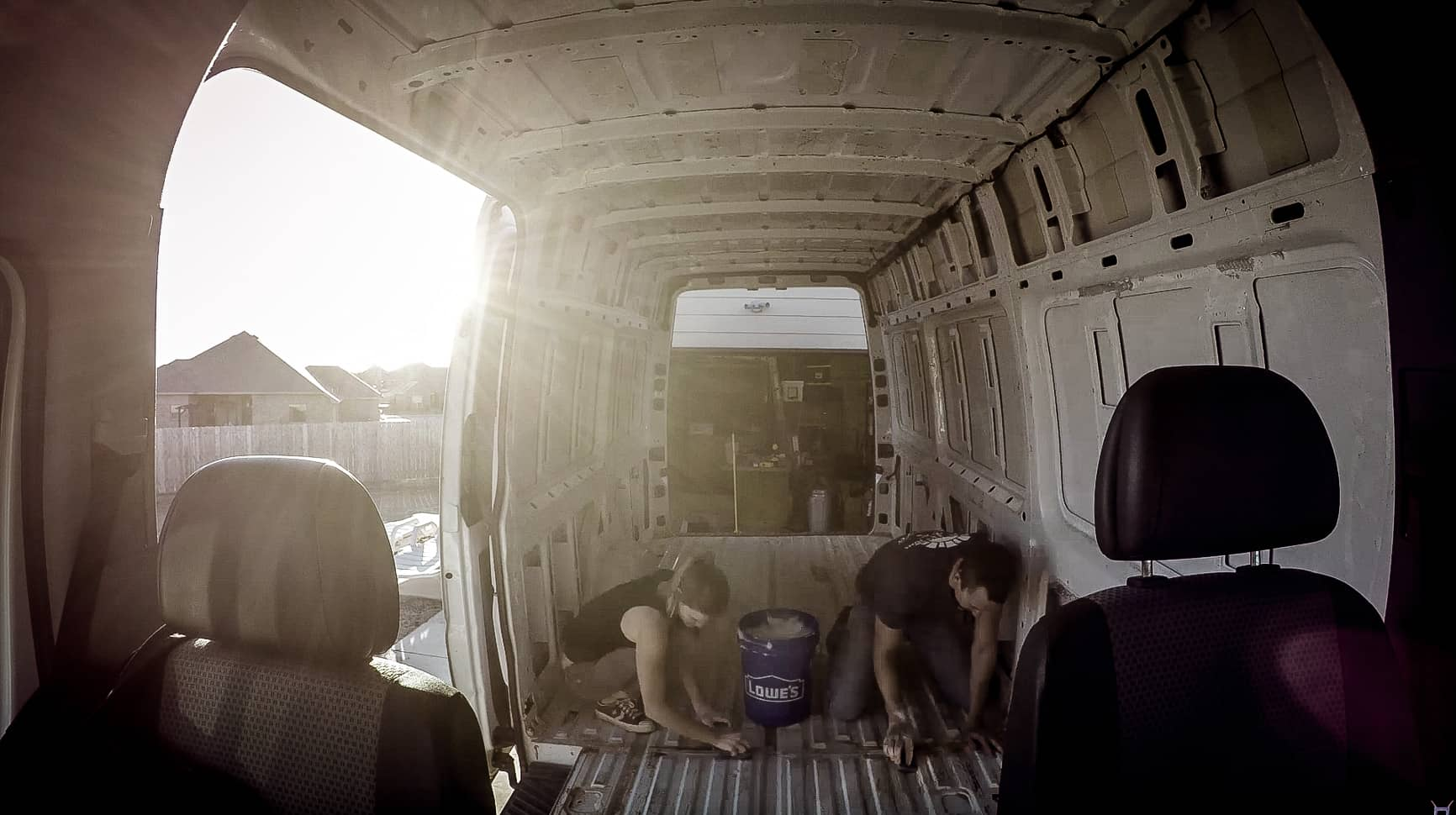 Preparing Our Campervan For Flooring-6