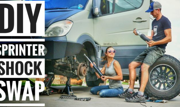 Sprinter Maintenance: Replacing Shocks