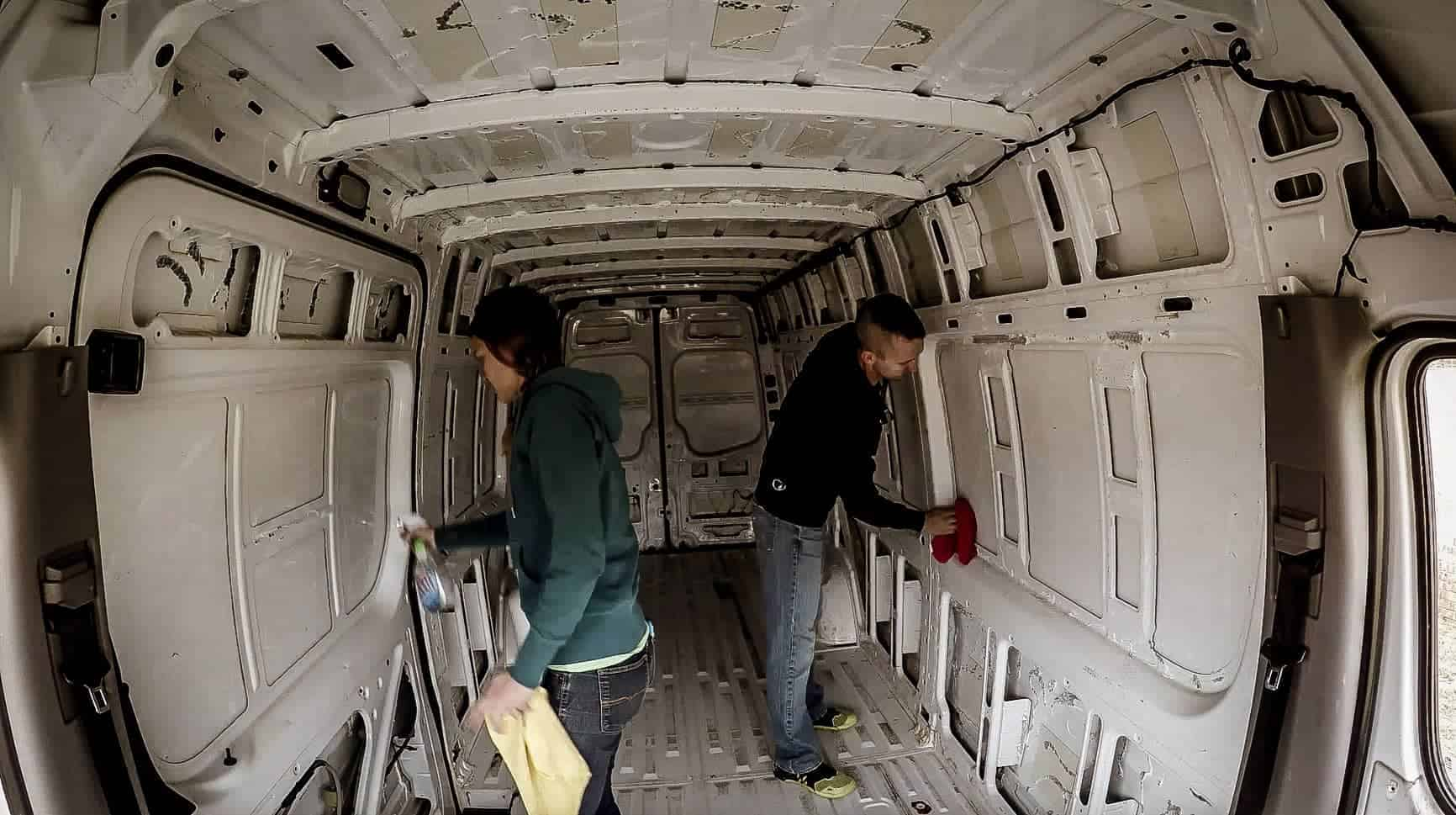 Soundproofing a Campervan-3