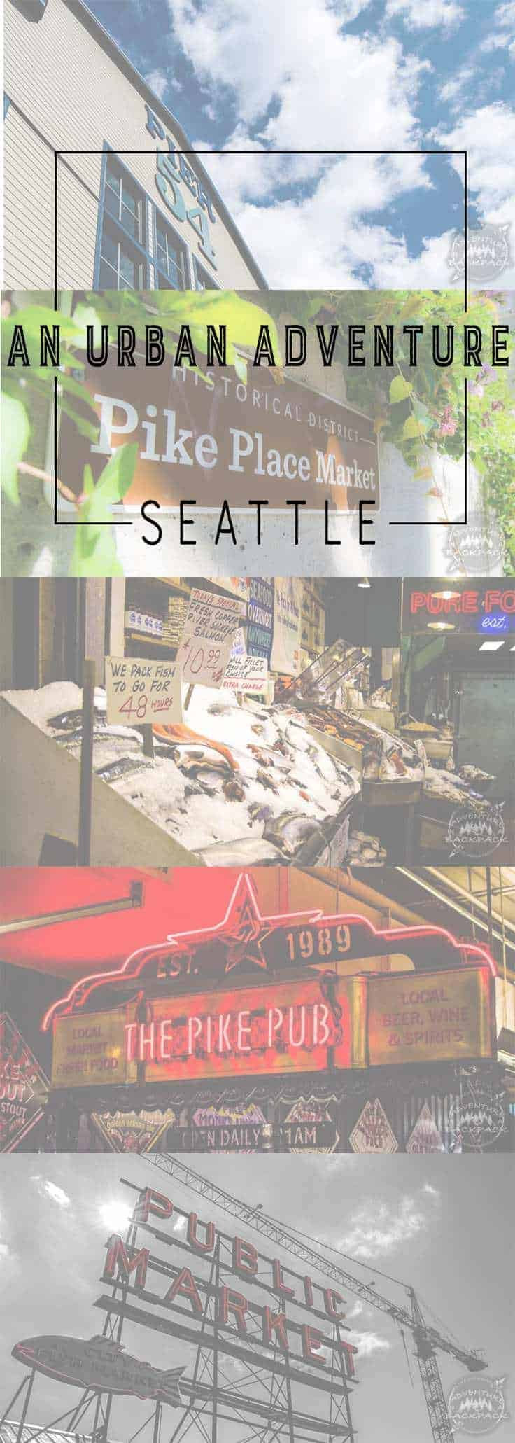 Looking for an urban adventure? Seattle is a pretty cool city with a super chill vibe. Here are a few touristy things to do and see. Things to do in Seattle | Seattle Starbucks | Seattle Food | Seattle Restaurants | Seattle Downtown