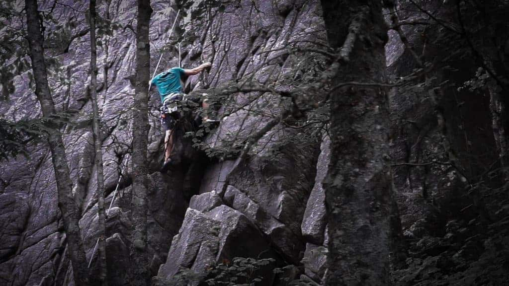 Climbing in Squamish