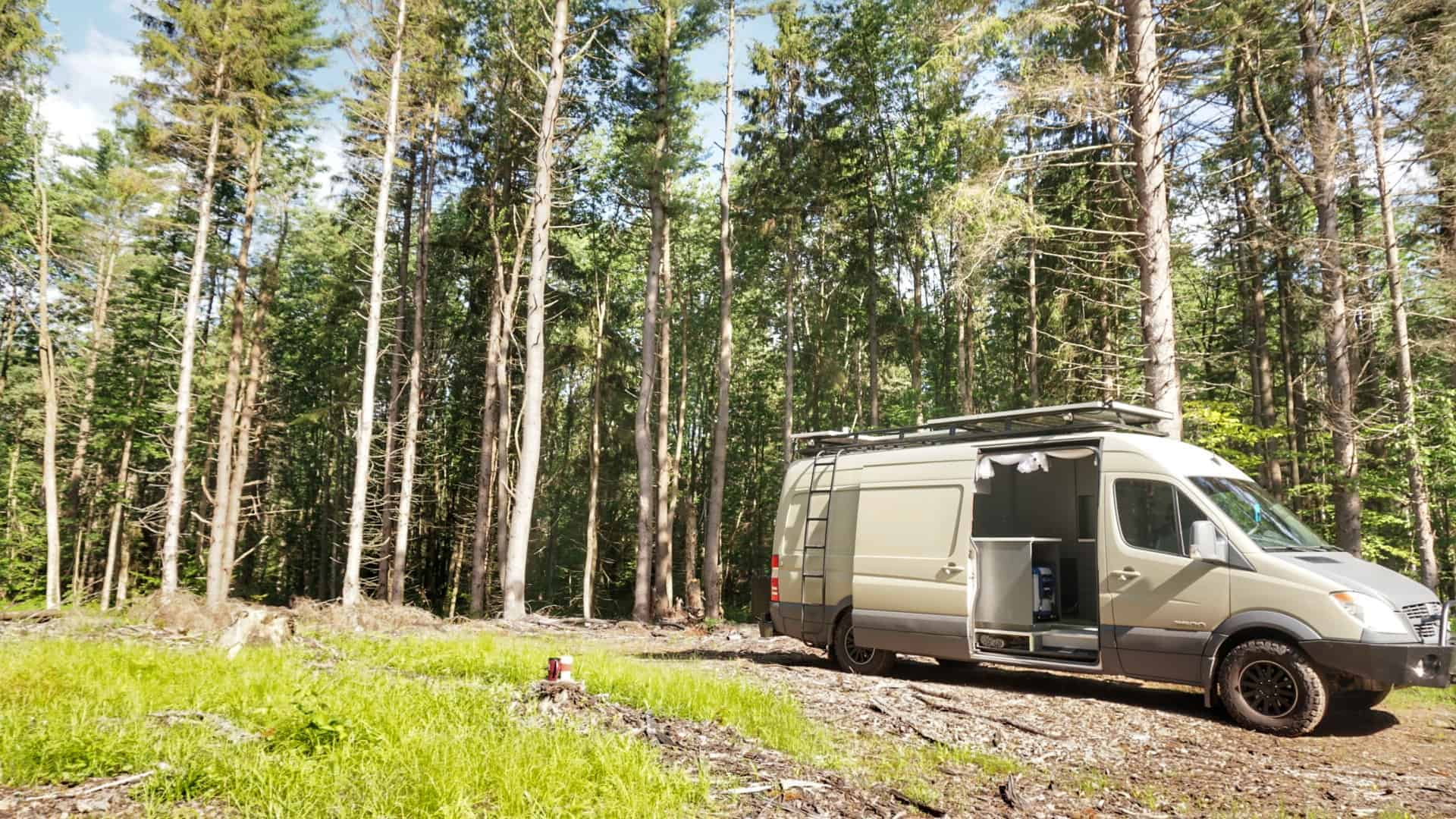 Winona State Forest Boondocking