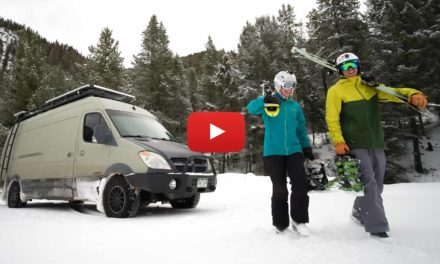 Ep 1 – Jackson Hole | Winter Vanlife is More than Skiing Powder