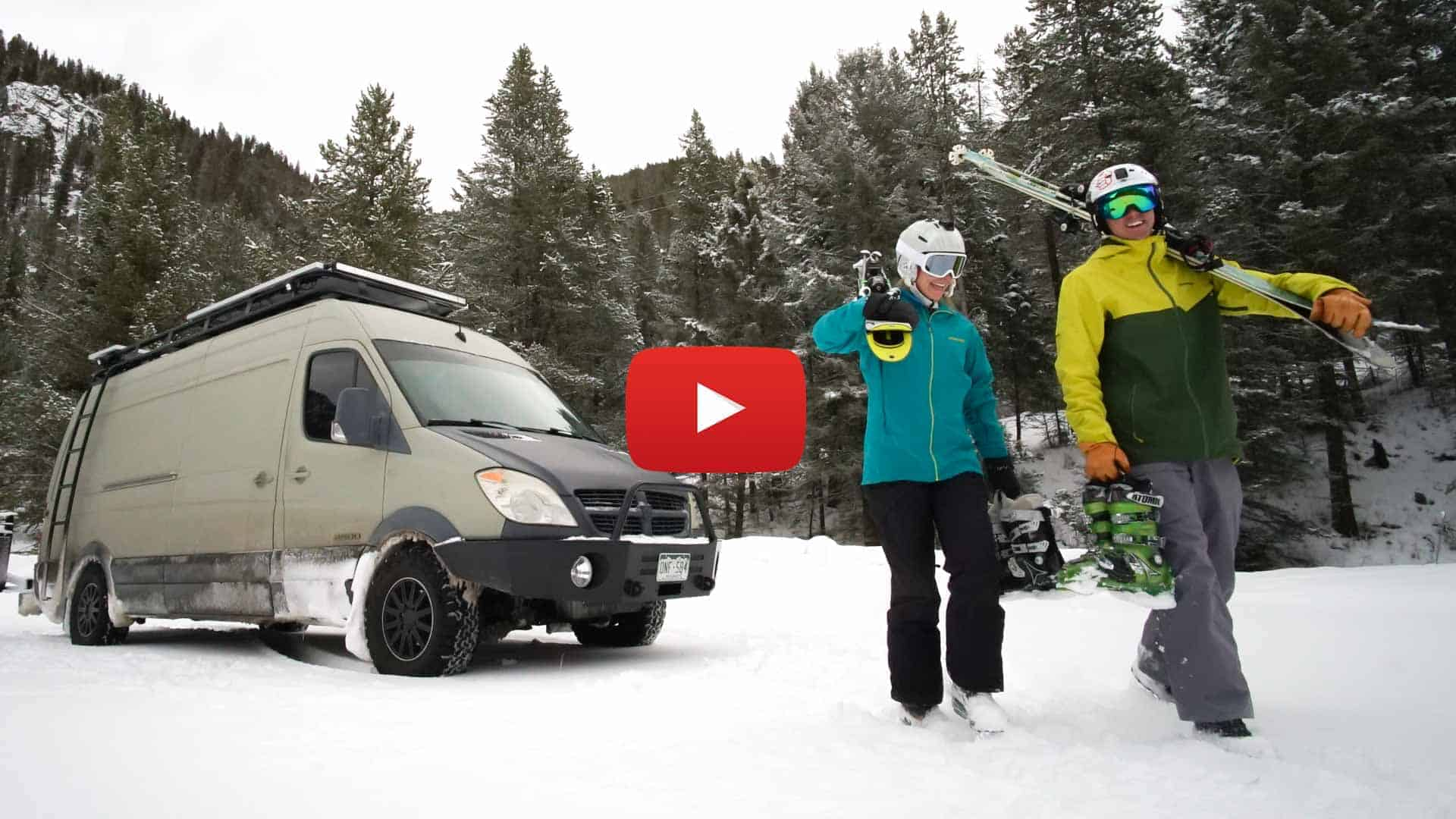 Winter Vanlife is More than skiing Powder Jackson Hole 1 of 1 - Ep 2 - Sun Valley | Winter Vanlife is More than Skiing Powder