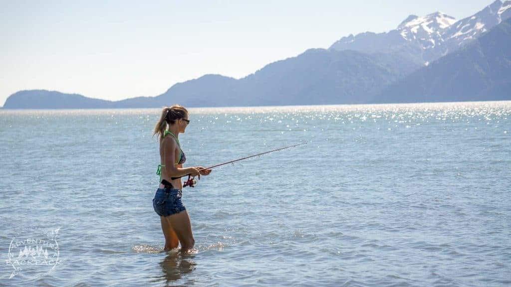 Boondocking in Seward Alaska