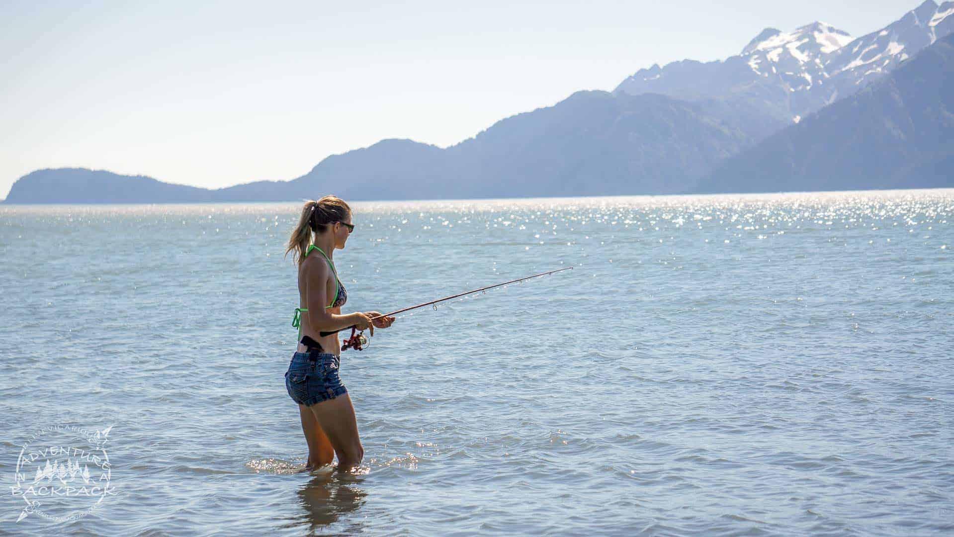 fishing seward 1 - Boondocking in Seward Alaska