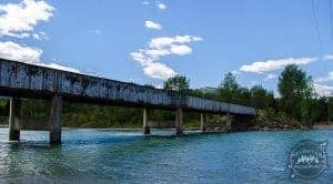 Blankenship Bridge on the Flathead River