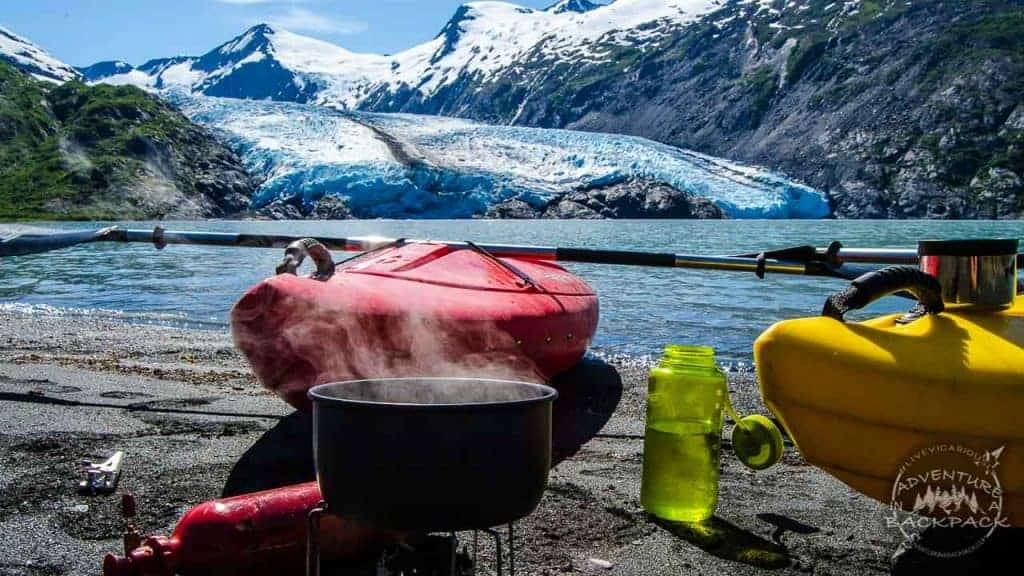 Viewing Portage Glacier